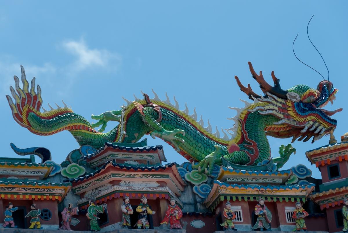 Hong Kong - miasto, w którym żyją smoki....