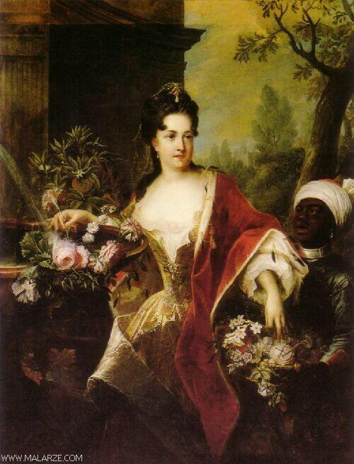 Anna Konstancja von Cosel, malarz nieznany
