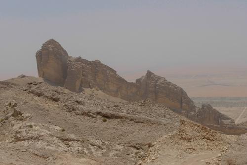 Miejsce, gdzie nie zaglądają wycieczki - stroma droga na górę Hafeet