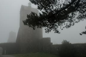 Zamek Stolpen i hrabinaCosel