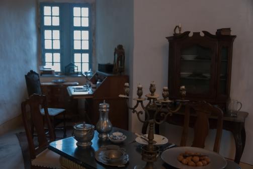 Pokój dzienny hrabiny von Cosel