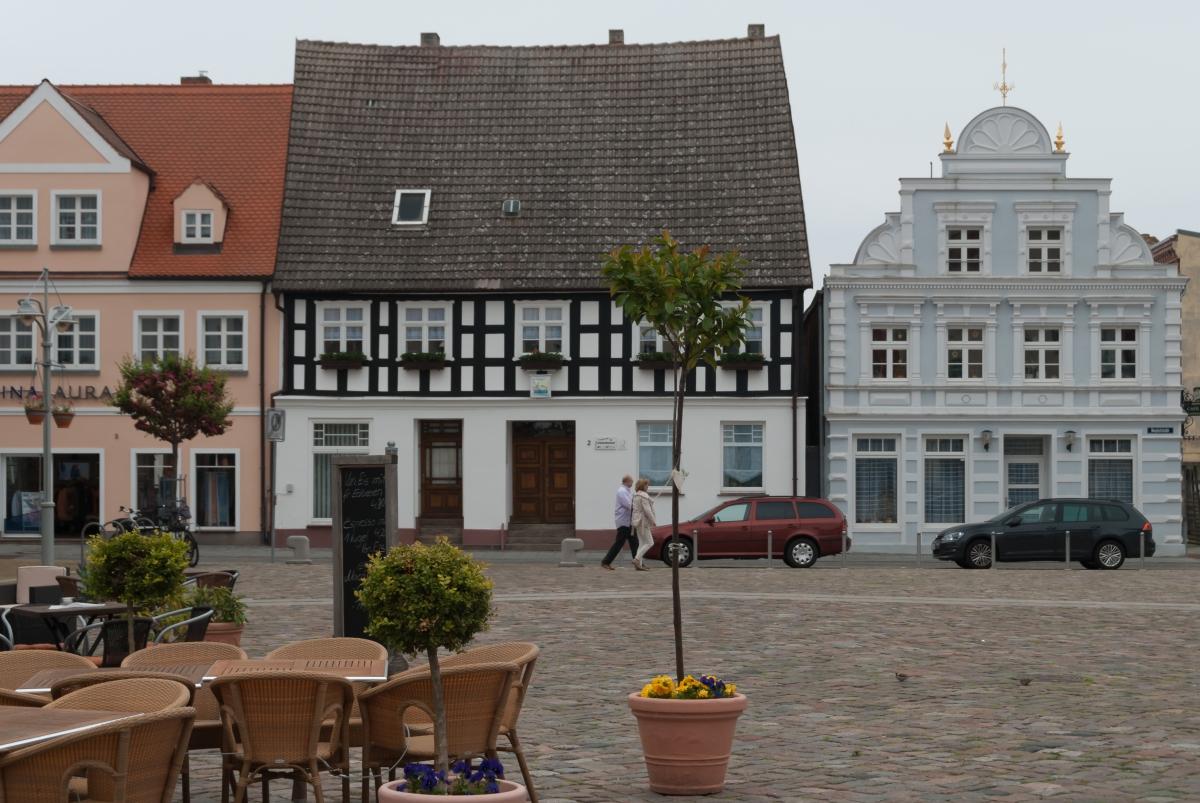 Ueckermünde - cel rowerowej wyprawy